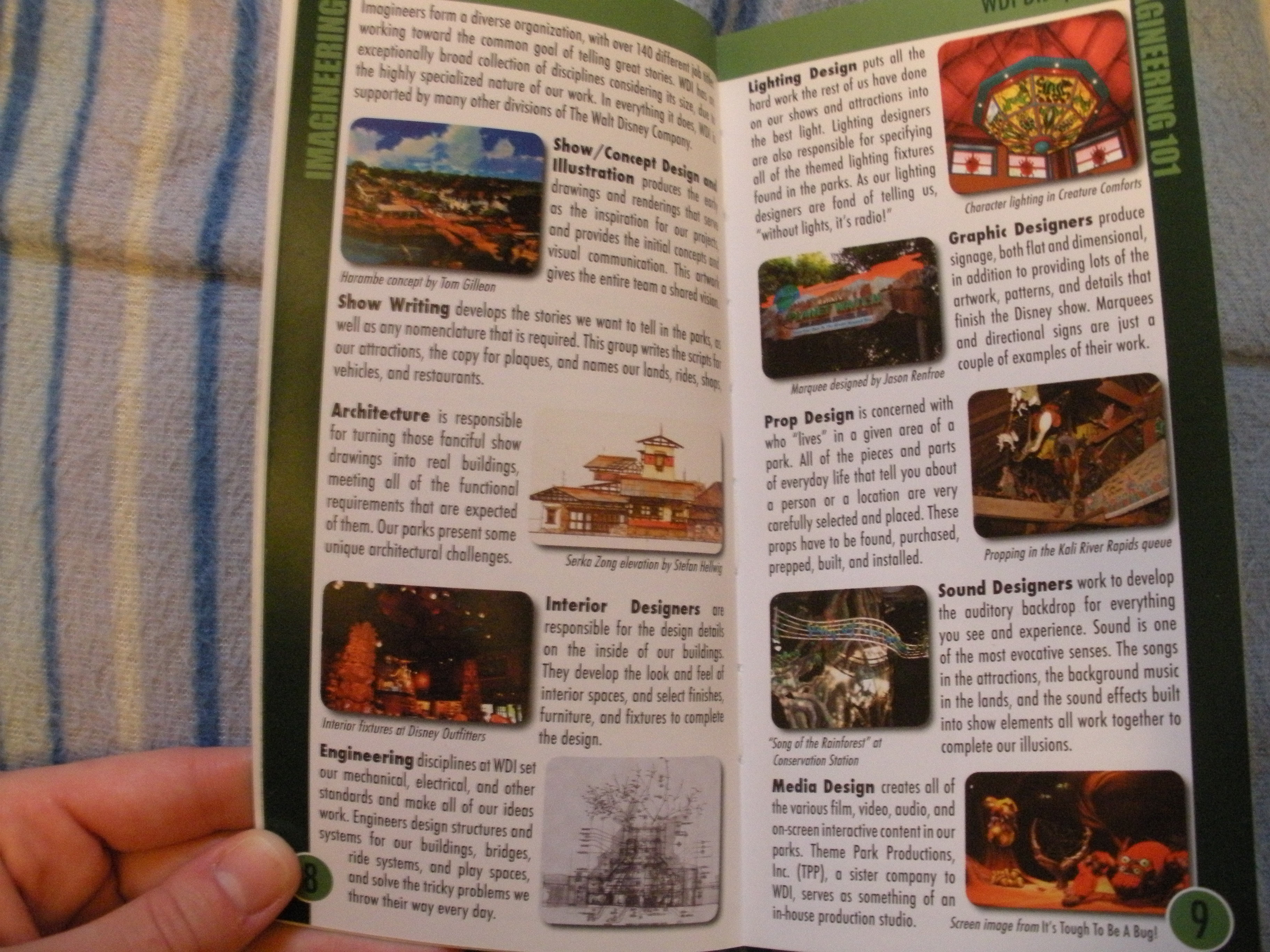 the imagineering field guide to epcot at walt disney world updated an imagineering field guide
