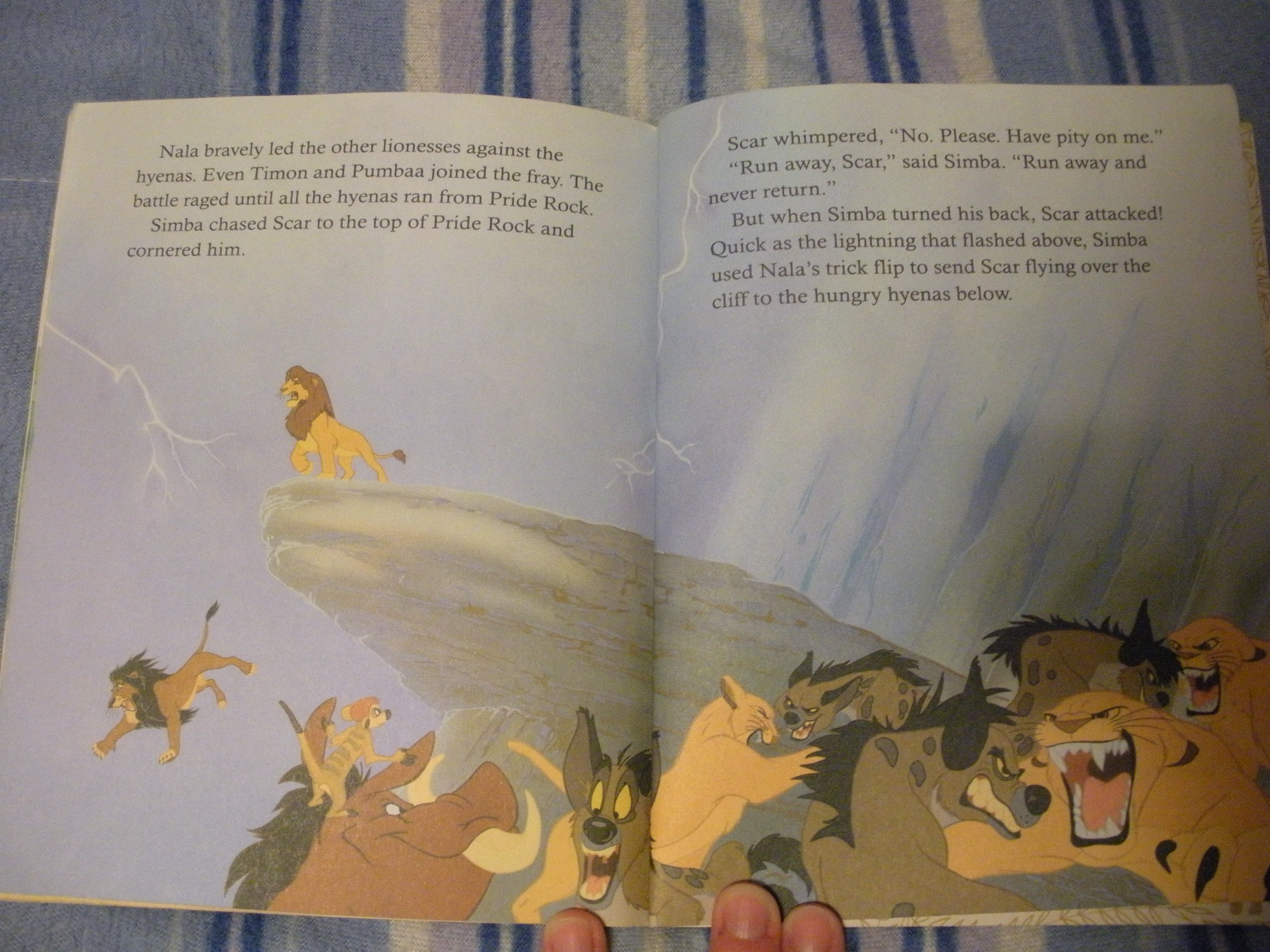 Childrens Books The Lion King Golden Book  Walts Writers
