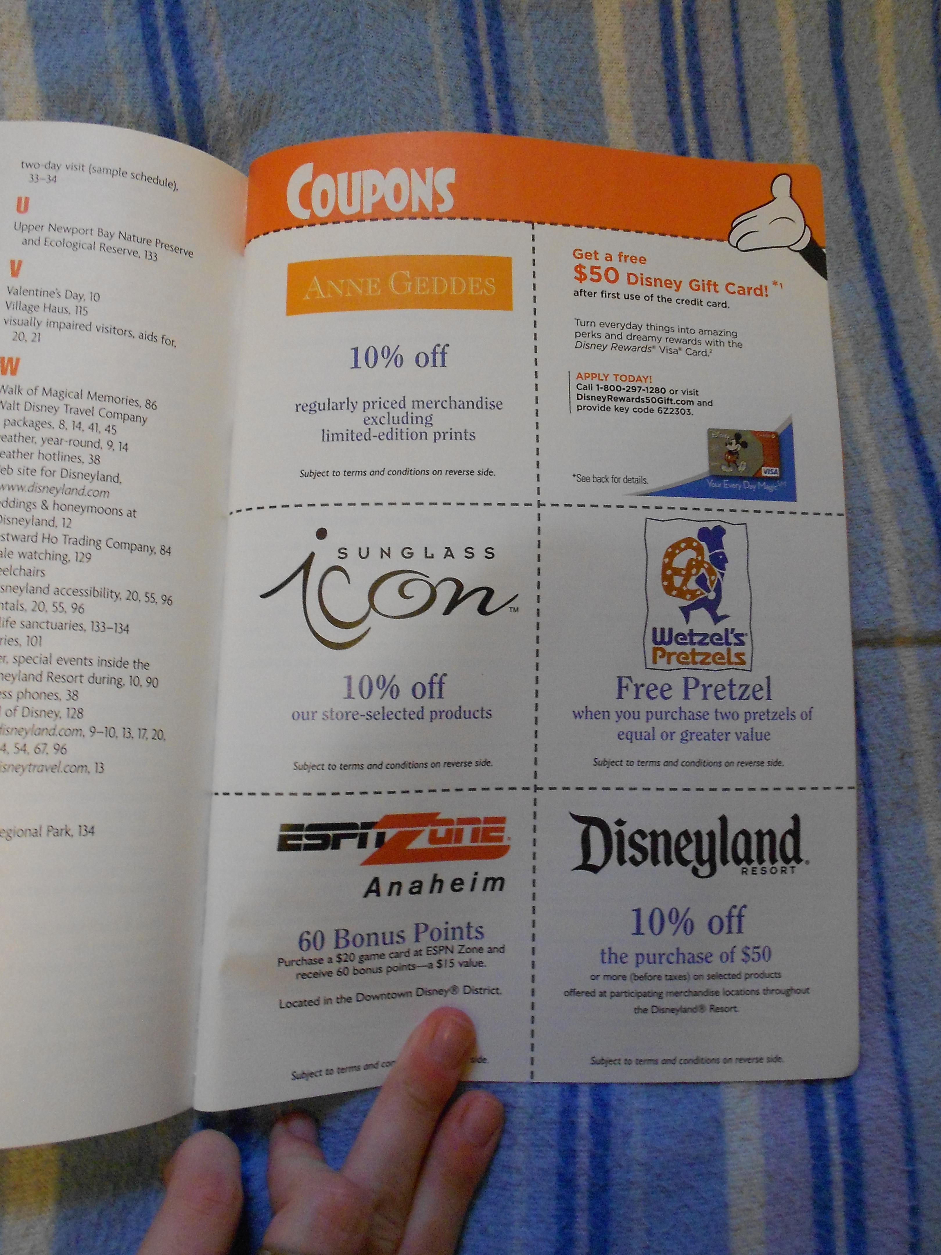 ... Birnbaum's Disneyland Resort 2011. Advertisements